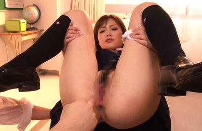 Rina kato. Chick Rina Kato gets enjoyment for her beautiful