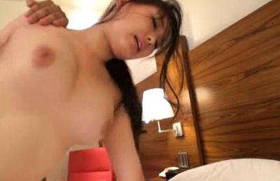 Japanese av model. Japanese Av model gets her wet pussy fuck