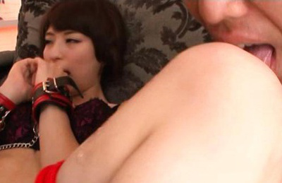 Shoko akiyama. Hot Shoko Akiyama was licked by lover before hot