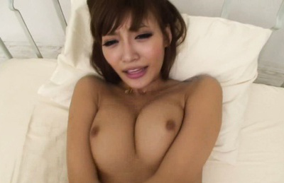 Kirara asuka. Big tits kirara taking hot cumshot on her tits