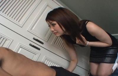 image Azumi mizushima busty gives fine blowjob