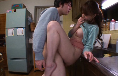 Akiho yoshizawa. Akiho screams riding him as he throbs his dick