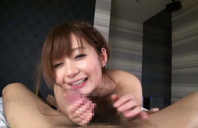 Rina ishihara. Hot Rina Ishihara amazes us with hot cock sucking