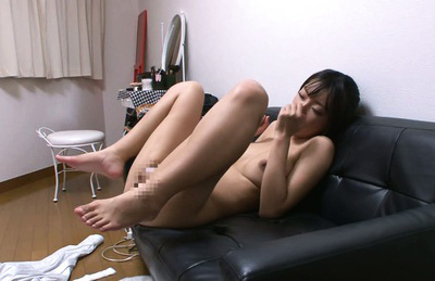 Yuzu ogura. Sensual Yuzu Ogura adores to fuck in butthole on a comfy sofa