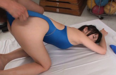Tsubomi. Tsubomi Asian with hot behind is have sex doggy under