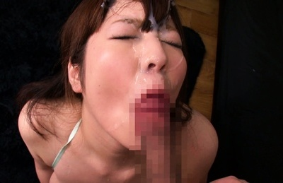 Ran niiyama. Ran Niiyama Asian penish sucking and licks penish