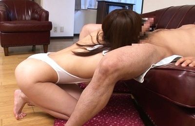 Amateur. Amateur Asian chick swallows heavy penish in