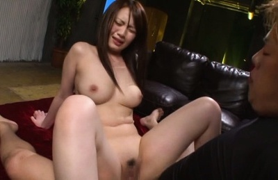 Eri hosaka. Eri Hosaka Asian with heavy jugs gets more and