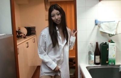 Natsume inagawa. Natsume Inagawa Asian in man shirt touches