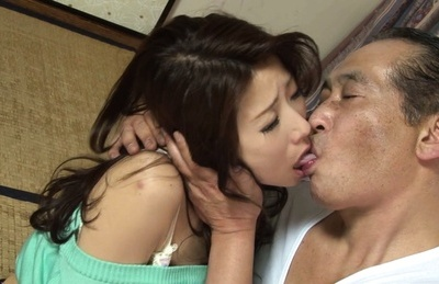 Ayumi shinoda. Ayumi Shinoda Asian sits with anus up and has