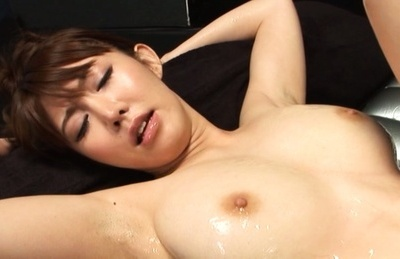 Azumi kinoshita. Azumi Kinoshita Asian with huge cans has cunt