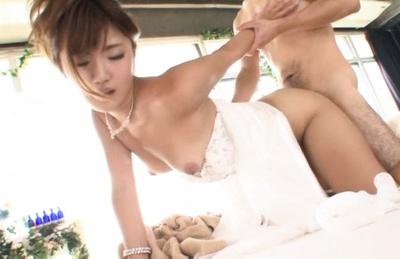 Maya kawamura. Maya Kawamura Asian on high heels has cooter